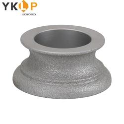 Brazed Grinding Wheel Diamond Abrasive Disc for Stone Ceramic Marble Granite Concrete 46Grit 75x20x35mm
