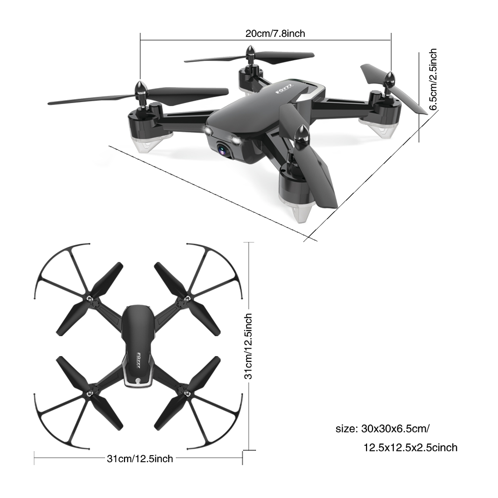 Image 2 - Rc Helicopters Drone Video Shooting Drones toy HD Camera Quadcopter Fun Remote control toys Drone for Kids Children's day Gift-in RC Helicopters from Toys & Hobbies