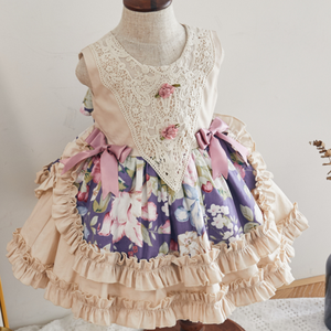 Детское винтажное бальное платье без рукавов, вечерние платья для дня рождения, лето 2020