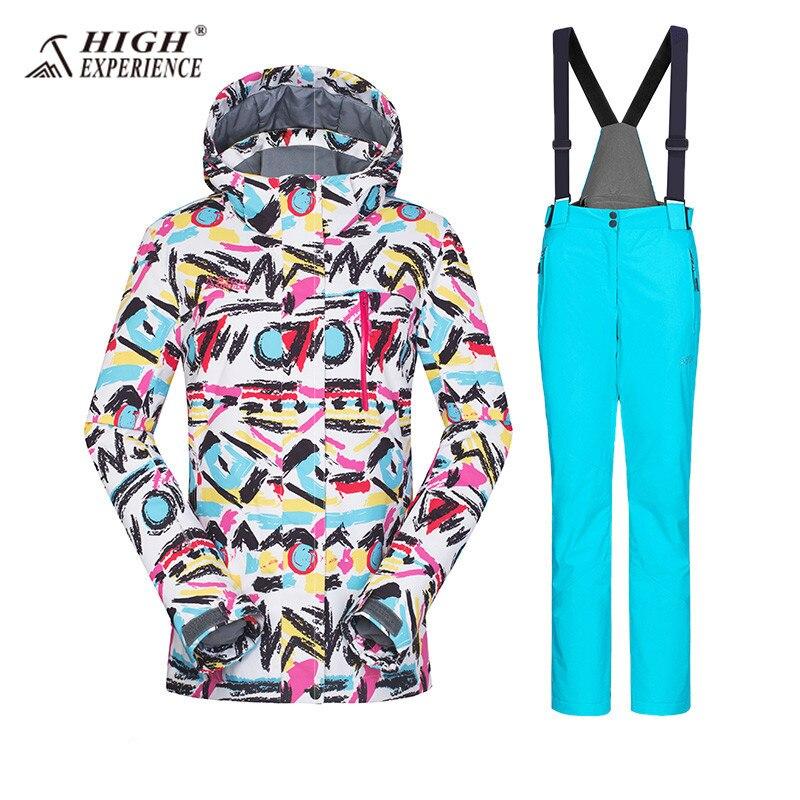 Winter Suit Ski Jacket Ski Suit Women Winter Jacket Female Snowboard Suit Snow Jacket Skiing Sport Suit Waterproof Snowboarding