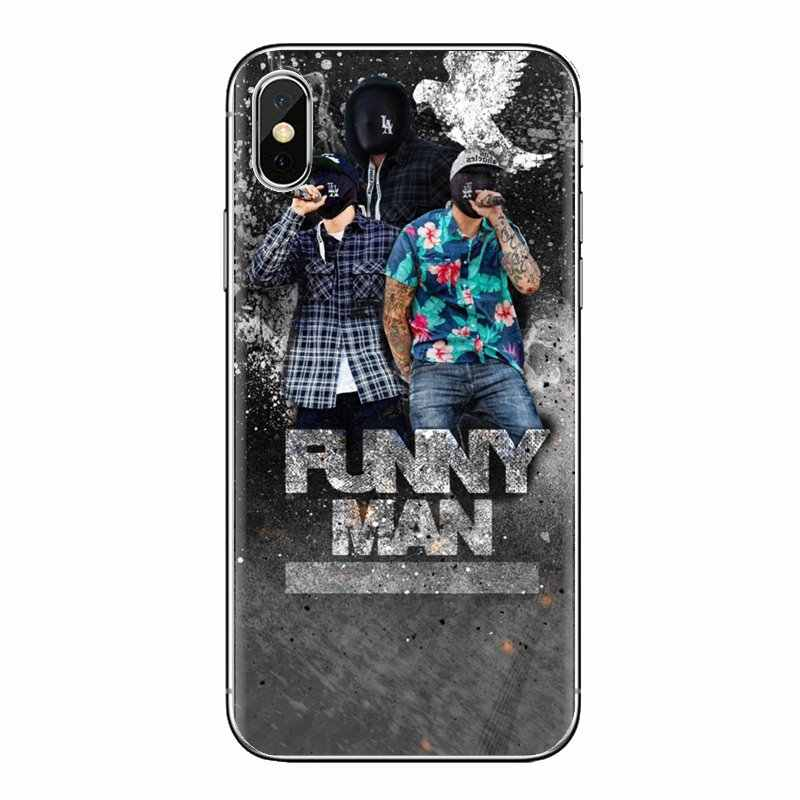 Rock Hip Hop hollywood undead przezroczysty miękki pokrowce na Samsung Galaxy A3 A5 A7 A9 A8 gwiazda A6 Plus 2018 2015 2016 2017