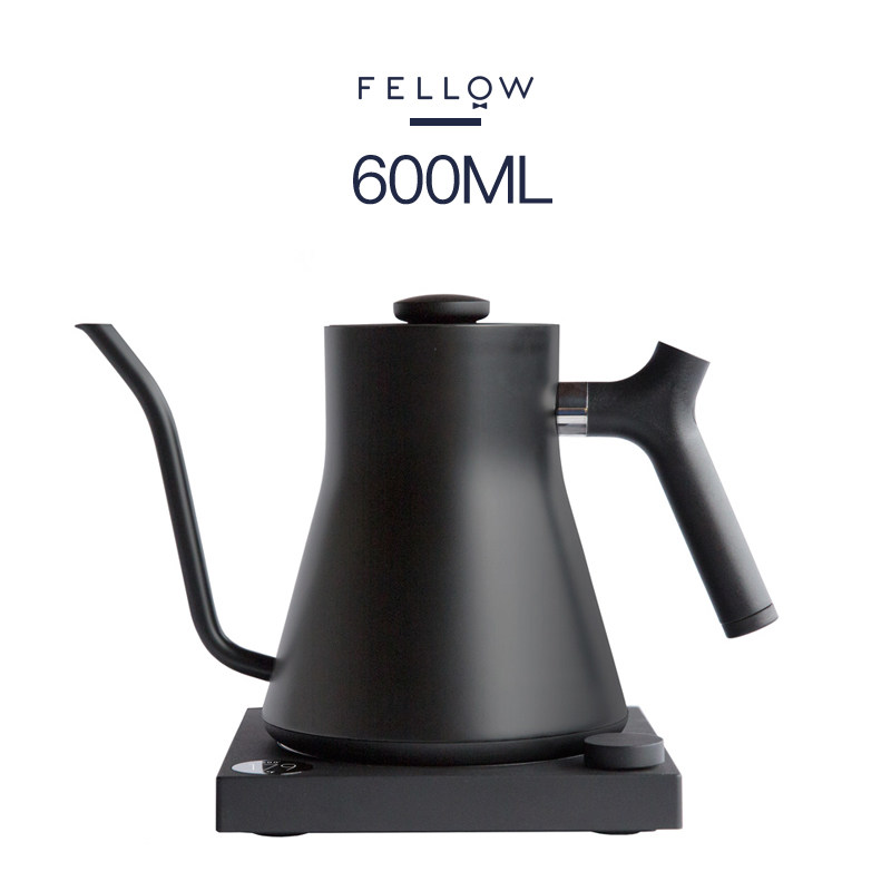 FELLOW STAGG EKG ELECTRIC KETTLE Intelligent Temperature Control Hand Coffee Pot Constant Flow Fine Mouth Hand Coffee Pot 600ml