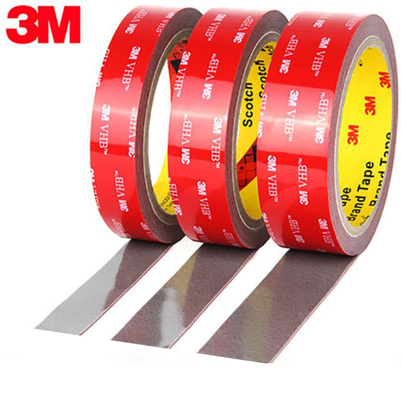 3M VHB Acrylic Adhesive Double Sided Foam Tape Strong Adhesive Pad Waterproof High Quality Reusable Home Car Office Decoration