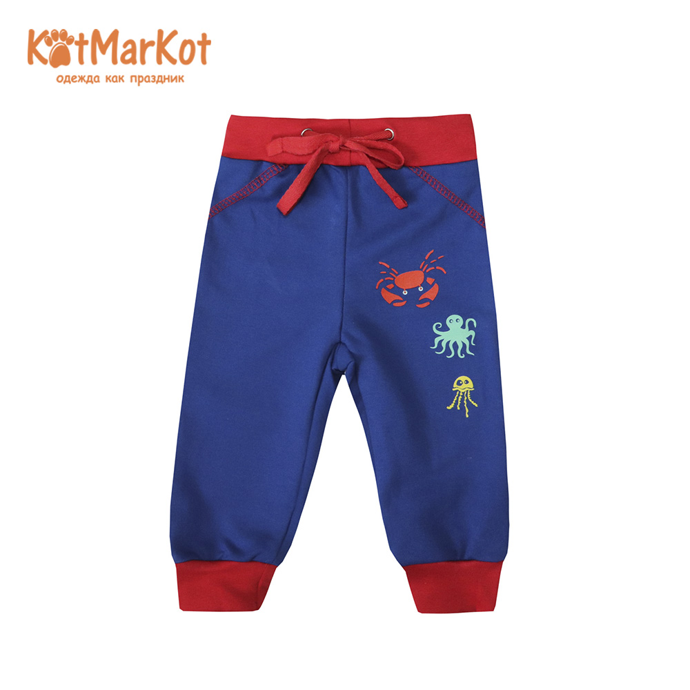 Фото - Pants & Capris Kotmarkot 75604 baby  childhood newborn clothes sliders footies Cotton Baby Boys pants baby shaluni