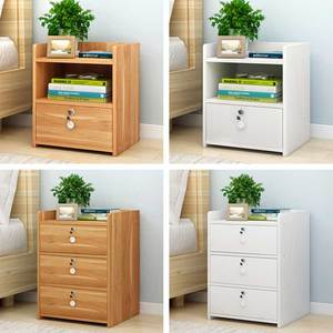 Image 2 - Szafka nocna, proste nowoczesne przechowywania ramki, szafka nocna, szafka nocna, mały stolik i małych otrzymaniu szafka