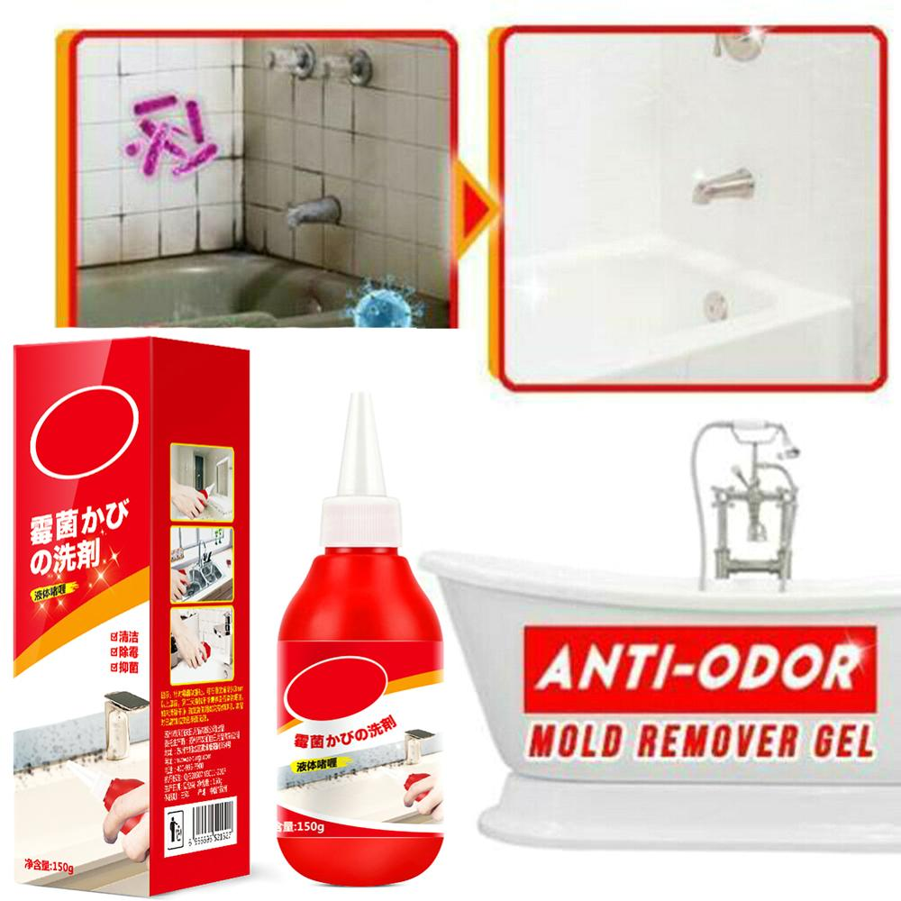 Mold Remover Tile Cleaner Wall Mold Mildew Gel Bathroom Washing Machine Kitchen Anti-odor Wall Porcelain Floor Cracks Detergent