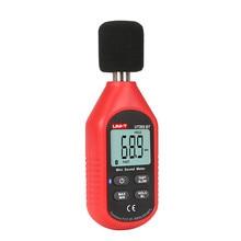 лучшая цена UNI-T UT353BT Sound Level Meter Digital Bluetooth Noise Meter Tester 30-130dB Decibel Monitoring Sound Level Meters
