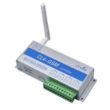 GSM переключатель SMS Управление; 4 реле Выход двери гаража CL4-GSM отлично подходит для Управление домашних электрических устройств