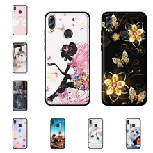 For Huawei Honor 8X Case Soft TPU Leather JSN-L11 JSN-L21 JSN-L22 Cover Cartoon Pattern View 10 Lite Capa