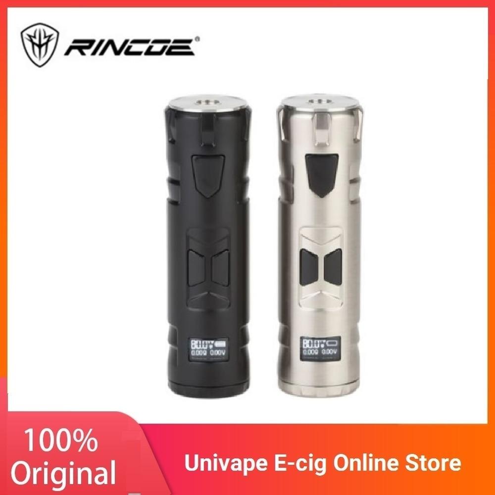 Electronic Cigarette Rincoe Mechman 80W Mod With 4.5ml Tank NO 18650 Battery MOD E-cig Vaporizer Vs Drag 2/ Shogun/ Luxe Mod