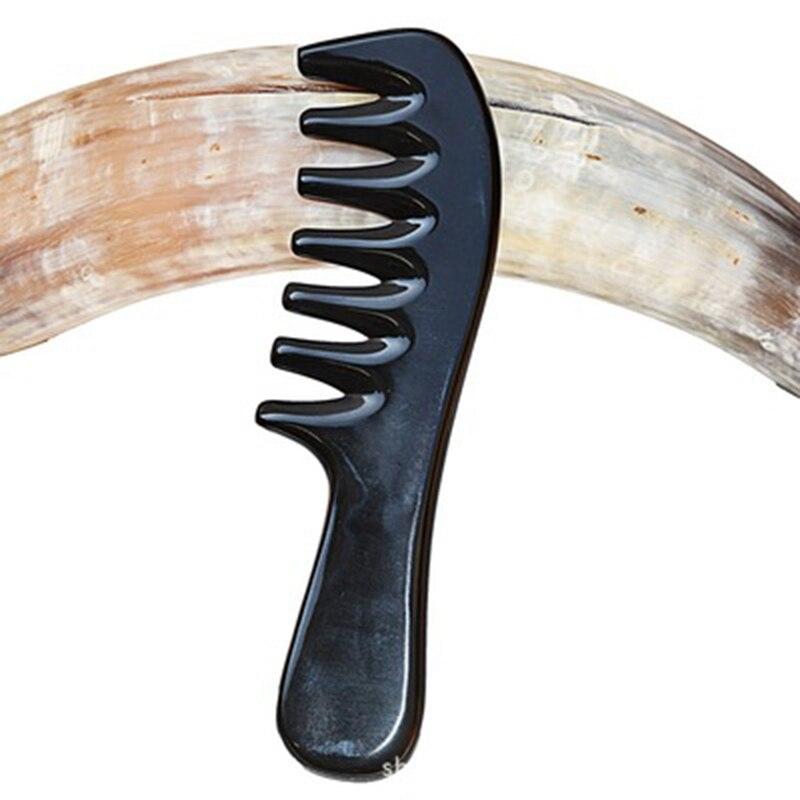 de cabelo dentes de grandes dimensões chifre