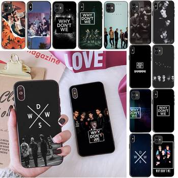 Why don't we Hard Phone Case For iPhone 11 8 7 6 6S Plus 7 plus 8 plus X XS MAX 5 5S XR 12 11 Pro max se 2020 Funda Cover image