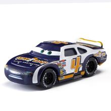 1:55 Disney Pixar Cars 2 Lightning Mcqueen The Kings Chick Hick Mater Mack Uncle All Cartoon Figures Model Toys Vehicles