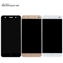 For ZTE Blade V6 Plus LCD Display Touch Screen Panel Digitizer Glass Assembly For ZTE V7 Lite LCD Display цена и фото