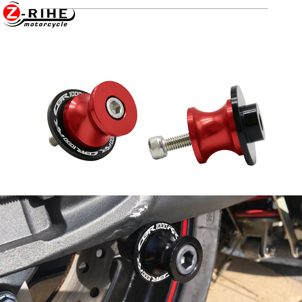 8mm Motorcycle CNC Swingarm Sliders Spools Screw For HONDA CBR1000RR <font><b>CBR</b></font> <font><b>1000</b></font> CBR1000 <font><b>RR</b></font> 2021 2019 Fireblade SP <font><b>2017</b></font> 2018 2020 image