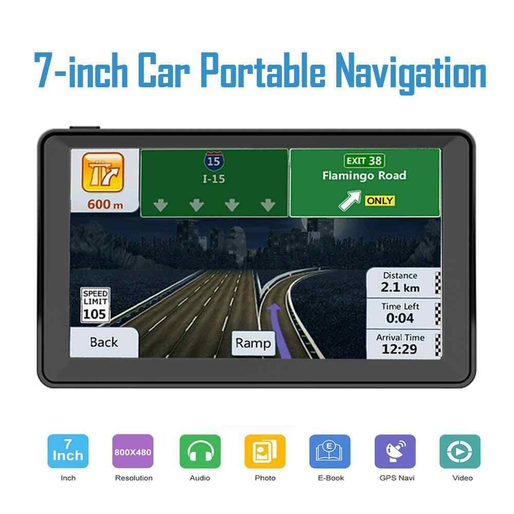 7 インチ車の Gps ナビゲーターポータブルナビゲーション HD GPS ナビゲータラジオ HD 衛星ナビゲーションサポート FM GPS 内蔵スピーカー