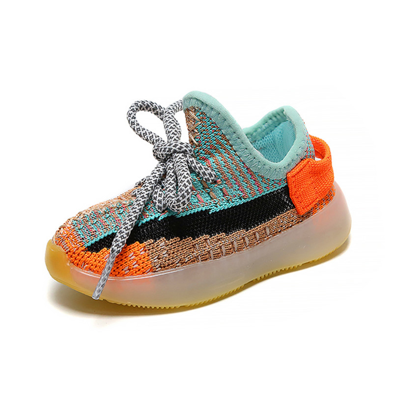 DIMI 2020 Spring Baby Shoes Boy Girl Breathable Knitting Mesh Toddler Shoes Fashion Infant Sneakers Soft Comfortable Child Shoes