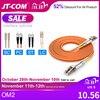 10pcs 1Gb OM2 LC LC Fiber Cable Multimode Duplex 2.0 3.0mmFiber Optic Patch Cord LC FC LC SC LC ST Multimode Simplex Fiber Cable