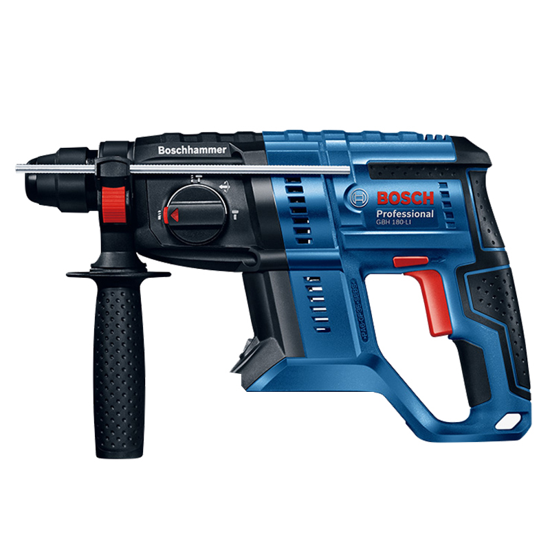 BOSCH GBH 180-LI New Lithium Brushless Hammer 18V Multifunctional Lithium Hammer Percussion Drill Electric Drill Bare Metal