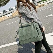 2021 Fashion Female Shoulder Bag Nubuck Leather women handbag Vintage Messenger Bag Motorcycle Crossbody Bags Women Bag