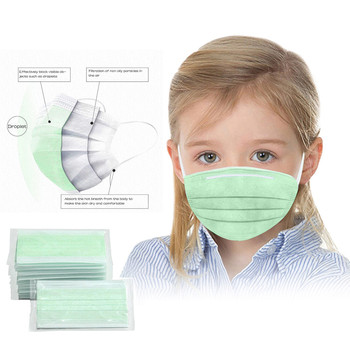 10/20/50/100PC scarf Disposable Boy And Girl Cartoon Masks For Children 3-Layer Dustproof
