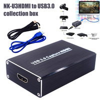 High Quality HDMI USB Auto Video Capture Card Game Recorder 1080P USB3.0 Dongle Box