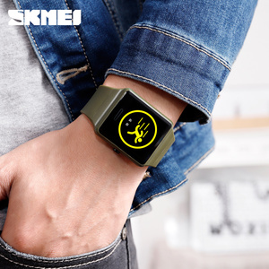 Image 3 - SKMEI Top Brand Men Digital Watch Sports Watches Blood Pressure Sleep Monitoring Clock Male Wristwatches Relogio Masculino 1526