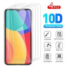 4 pçs vidro protetor de proteção completo para alcatel 1 s (2021) telefone vidro temperado protetor de tela de cobertura completa para alcatel 1 s (2021) filme