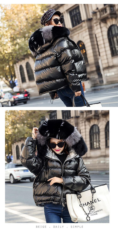 Hc9e3130fc15b45779763c8fedf3e47a5w Natural Fox Fur Winter Jacket Women Gold Warm Parka Real Fur Down Coat Female White Duck Down Jacket Winter Waterproof Overcoat