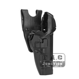 Image 2 - Тактическая кобура для пистолета Beretta 92 96 M9, удерживающая кобура для уровня 3, с автоматической блокировкой, для правой руки, для страйкбола