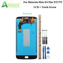 """Alesser For موتورولا موتو E4 Plus XT1775 XT1776 إصدار أمريكي شاشة LCD وشاشة لمس 5.5 """"مجموعة استبدال مع أدوات"""