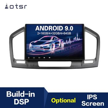 Android 9 4+64G DSP IPS Car Player GPS Navigation For Opel Insigina 2009-2012 Head Unit Multimedia Player Tape Recorder image