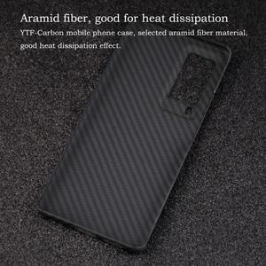 Image 5 - Ytf Carbon Carbon Fiber Telefoon Case Voor Vivo X60 Pro 5G Aramid Fiber Ultra Dunne Anti vallen Business Cover X60 Pro Shell