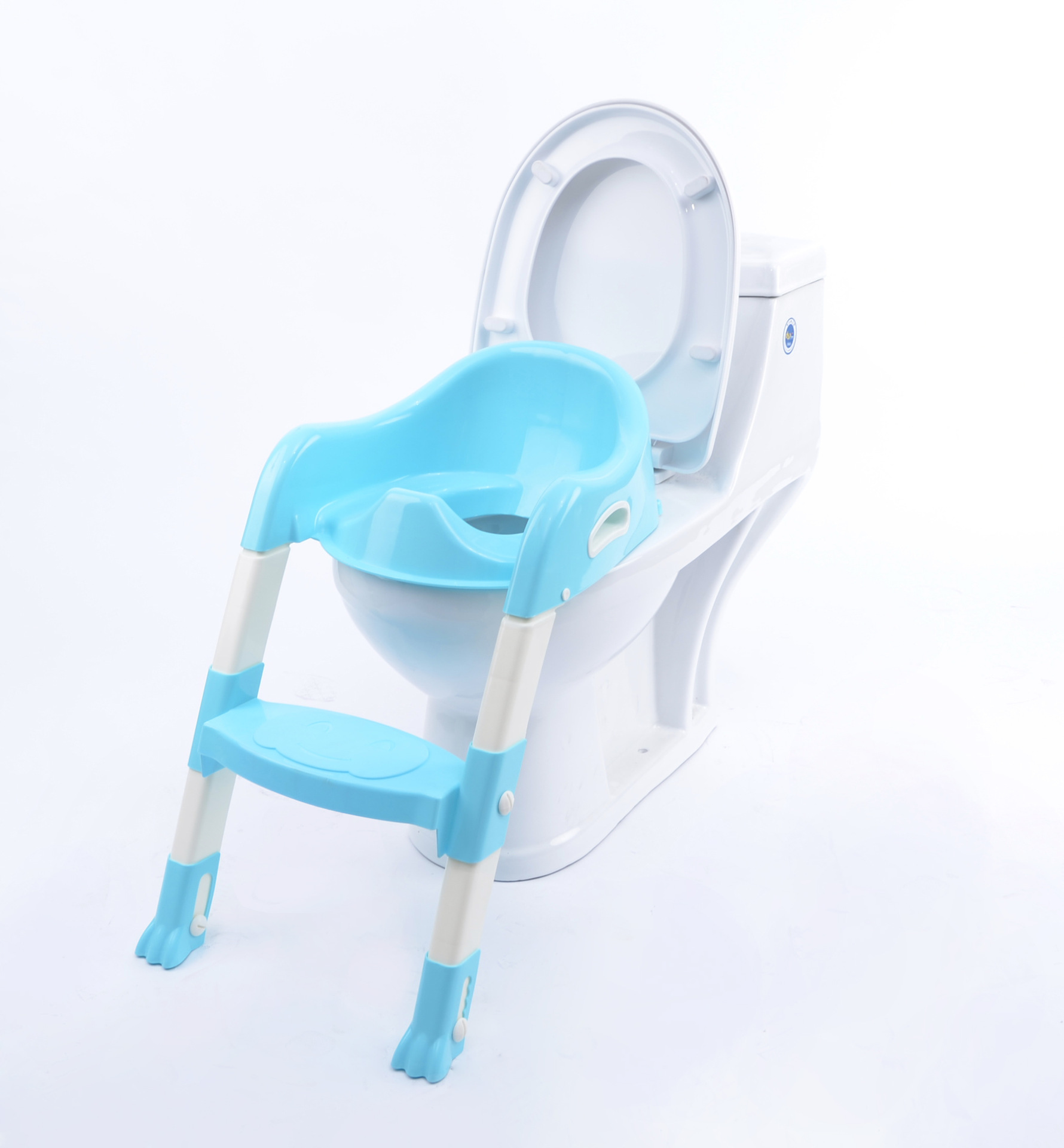New Style Children Foldable Toilet Ladder Gridlink Cash Baby Toilet Auxiliary Toilet Hands Free