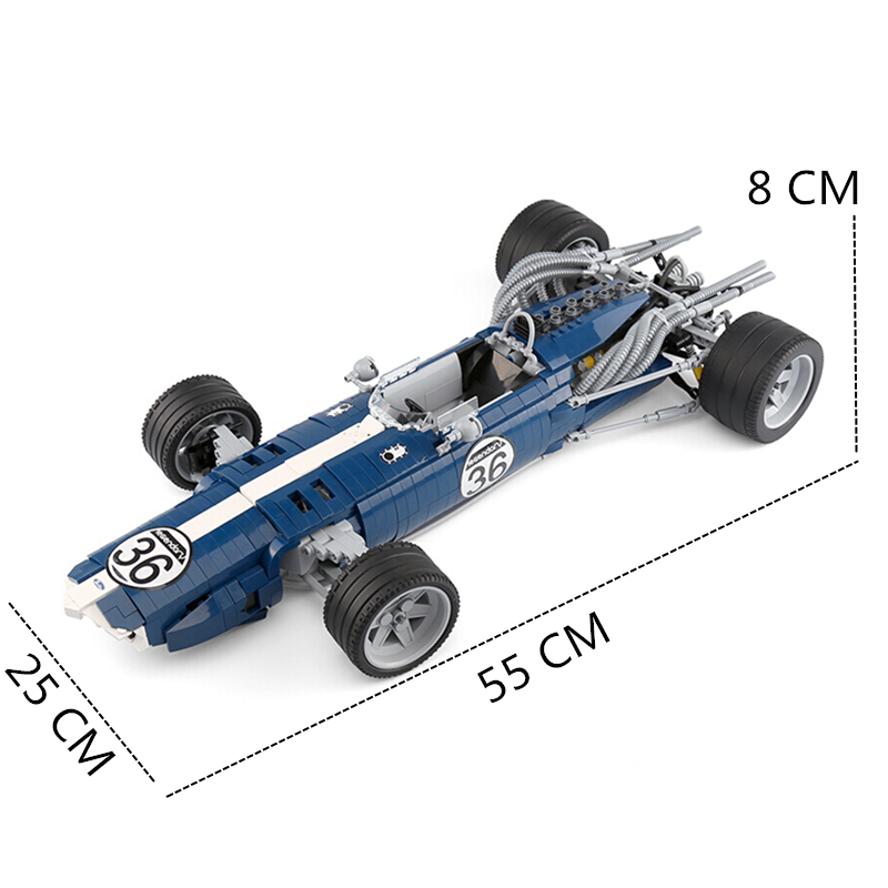 2020 técnica moc exclusivo grand prix racer