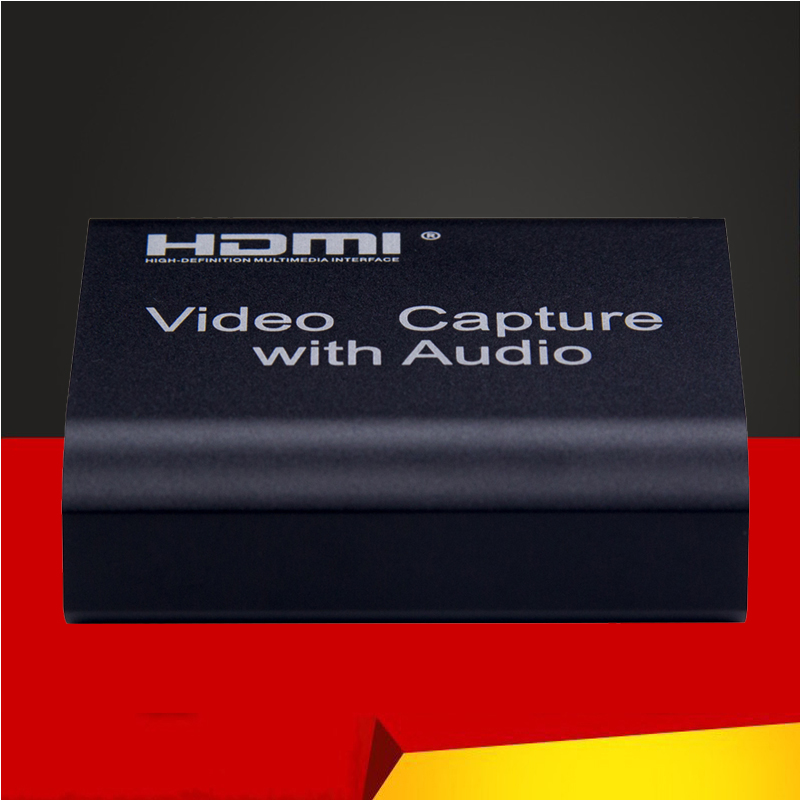 USB HDMI 4K 1080P Video Capture HDMI to USB Video Capture Card for PS4 Game Streaming Live Stream Broadcast with Audio MICinput