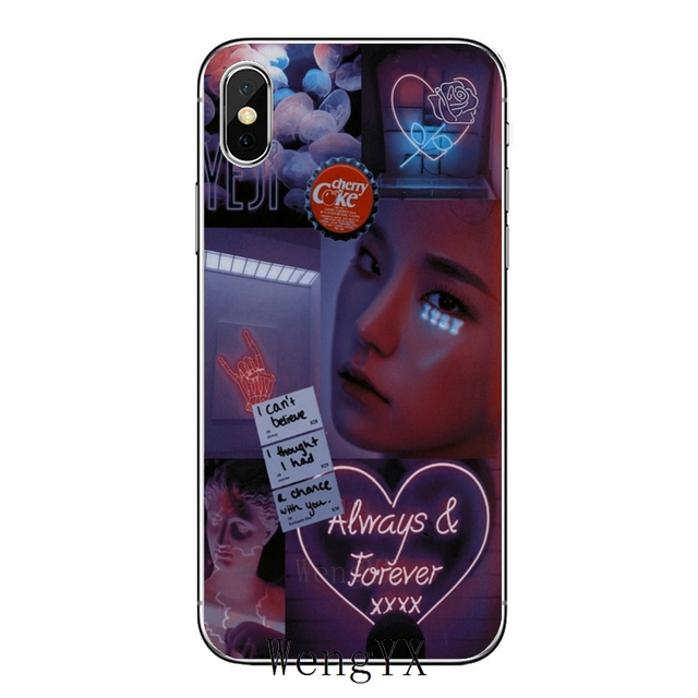 ITZY KPop Bands Silicone phone case For iPhone X XR XS 11 Pro Max 8 7 6 6S Plus 5 5S SE 4s 4 iPod Touch 5 6