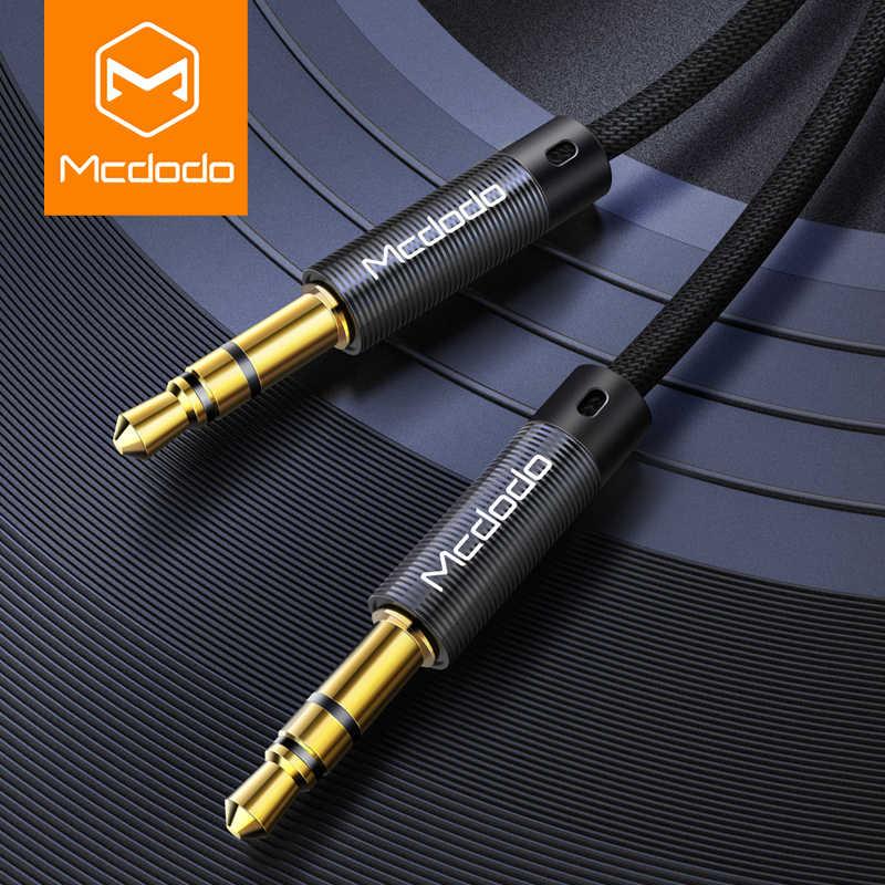 MCDODO كابل مساعد 3.5 مللي متر الذكور إلى الذكور كابل مكبر الصوت 3.5 سيارة جاك ل جاك سماعة الرأس كابل مساعد ل فون 6 سامسونج