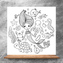 ZhuoAng Mermaid Clear Stamps/Silicone Transparent Seals for DIY scrapbooking photo album Clear Stamps