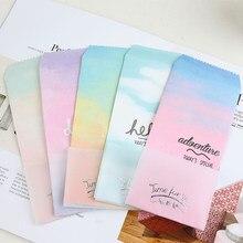 20 pçs/lote Aque Série Gradiente Doces Cor Envelope Envelopes Bênção Cartões De Convite De Casamento Criativa Dom Carta