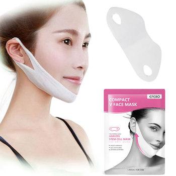 4D Double V twarzy maska na twarz artefakt podnoszenia ujędrniający odchudzanie wyeliminować obrzęk podnoszenia ujędrniający cienki masażysta narzędzie do pielęgnacji twarzy tanie i dobre opinie FRESHME Akumulator Żywica Face Artifact Maszyna wykonana AS PHONE AD2049