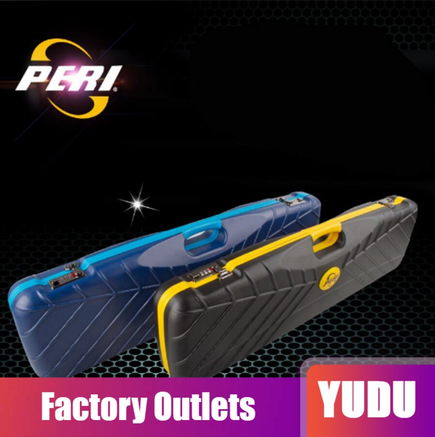 PERI New Multi piece Rod Box Billiard Cue Case Professional High end PU Cue Case with password 7 Holes Billiard Accessories 2019 in Snooker Billiard Accessories from Sports Entertainment