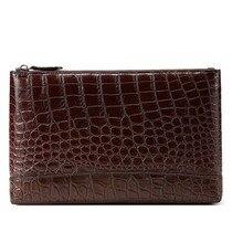 yinshang крокодил кожаный мешок мужской сцепления сумка новая мода большой емкости бизнес досуг молодежный бизнес мужчины бумажник