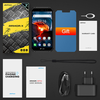 Ulefone Armor X7 Pro Android10 Rugged Phone 4GB RAM Smartphone Waterproof Mobile Phone Cell Phone ip68 NFC 4G LTE  2.4G/5G WLAN 6