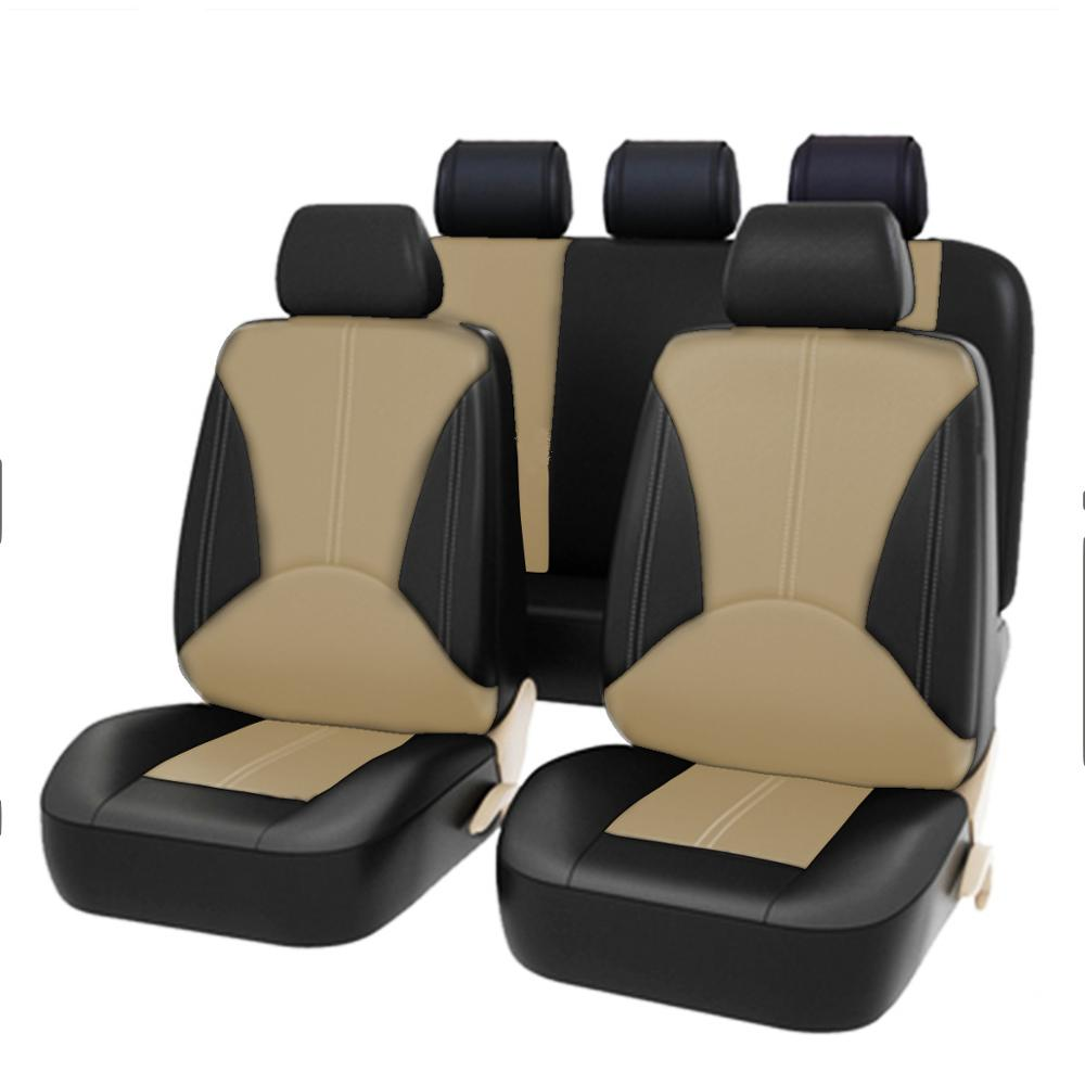 Universal pu car seat cover Faux Leather Four Seasons Universal Cushion 5-seater car seat cover