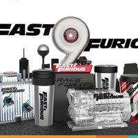 Taza de agua de película Fast & Furious 9, vaso de cambio de carreras con pajita divertida, forma de turbina, ventiladores de botella de agua, regalo de alta calidad, 2021 Original