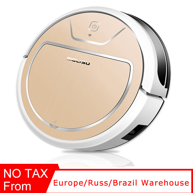 Robot vacuum cleaner home wifi Intelligent navigation APP control Suction sweep Dry and wet claen pet hair 600ML dust box image