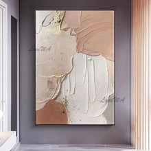Modern Abstract Texture Acrylic Canvas Paintings Wall Decor Picture Art 100% Hand-painted Latest Design Oil Painting Free Ship