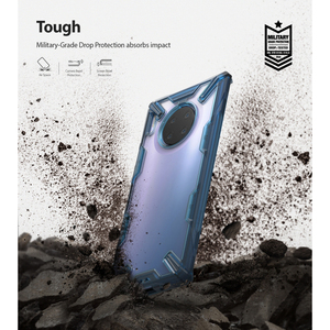 Image 2 - Ringke Fusion X Voor Huawei Mate 30 Pro Case Dual Layer Heavy Duty Drop Bescherming Pc Clear Back Cover En zachte Tpu Frame Hybrid