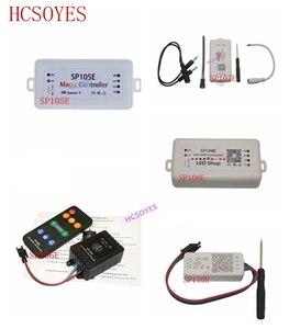 SP108E WIFI SP107E SP106E Music Controller for WS2812B LED Strip SP105E SP110E Bluetooth SK6812 RGB/RGBW APA102 WS2811 LED Light(China)